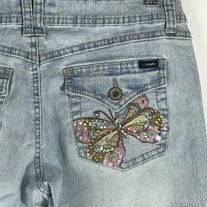 Angels Flap Pocket Jeans